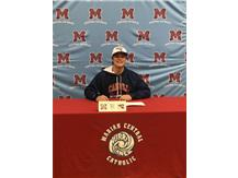 Congratulations to Mason Hege who signed his letter of intent to play baseball at Carroll University