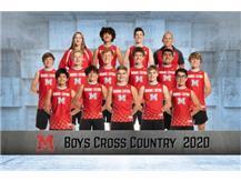 2020-2021 Boys Cross Country Team