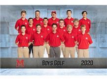 2020-2021 Boys Golf Team