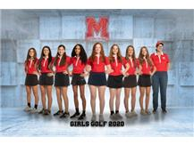 2020-2021 Girls Golf Team