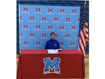Congratulations to Bryce Shelton who signed his letter of intent to continue his academic and wrestling career the United States Air Force Academy.