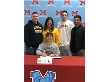 Congratulations to Scott Burke who signed his Letter of Intent to continue his academic and wrestling career at Loras College.