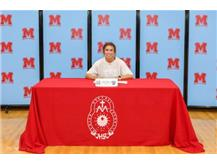 Congratulations to Delaney Hopp who signed her Letter of Intent to continue her academic and athletic career at McHenry County College.