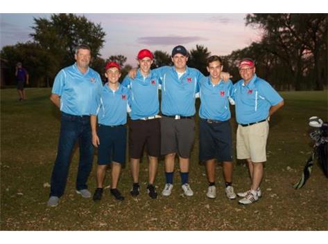 Thank you Boys Golf Seniors for a wonderful season.