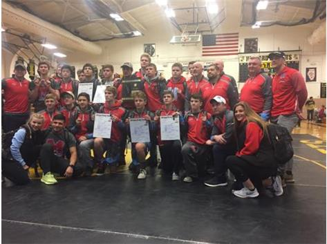 Congratulations for winning the Wrestling 2A Regional! Our Wrestling Team is making history.