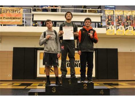 Luke Silva 1st Place 160lb Regional.