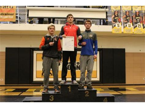 Bryce Shelton 1st Place 120lb Regional.