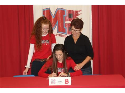 Congratulations to Eve Meintz who has committed to attend Benedictine University - Soccer.