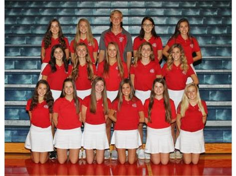 2018-2019 Girls JV Tennis