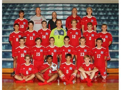 2018-2019 Varsity Boys Soccer Team