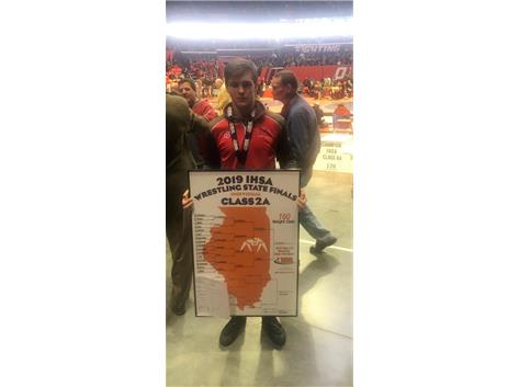 IHSA 2A State Champion Dylan Connell  160lb