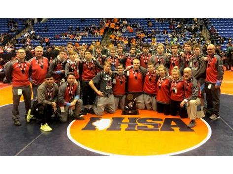 3rd Place IHSA 2A Dual Team State Finals