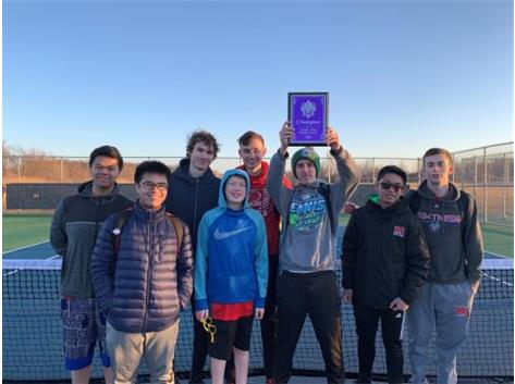 2019 Varsity Boys Tennis: 1st Place at the Hampshire H.S. Varsity Invite