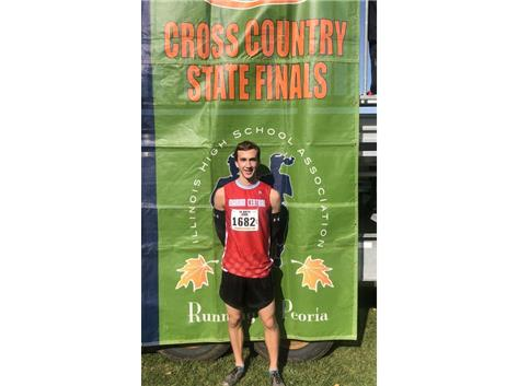 Congratulations to Ryan Jones who finished in 15th place at the IHSA Class 2A Boys Cross Country State Final. Jones also received All-State Honors.