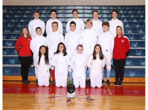 2019-2020 Fencing Team