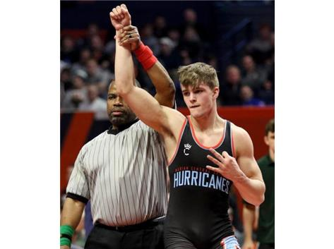 Congratulations to Dylan Connel who won the IHSA Class 2A Individual State Wrestling Title at 170 lbs. This is Connell's 3rd straight State Title.