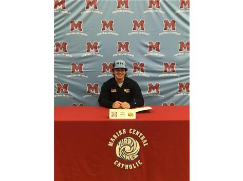 Congratulations to Justin Rohde who signed his letter of intent to play baseball at Rock Valley College