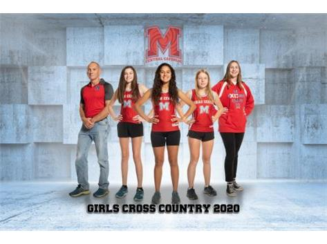 2020-2021 Girls Cross Country Team