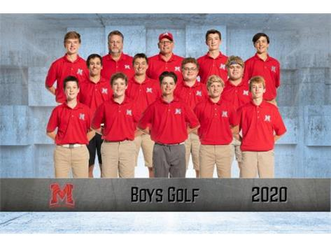 2020-2021 Boys Golf Team