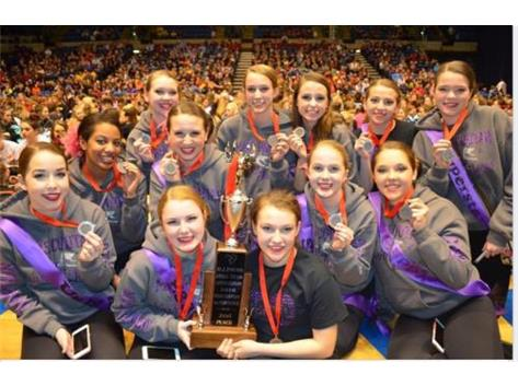 2nd Place AA Pom/Dance IDTA State Finals