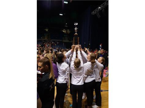 1st Place JV Pom/Dance IDTA State Finals