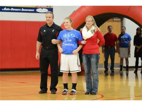 Scenes from Milford's Senior Day win over Loveland on Feb. 7. (Photo credit: Jeff Sullivan).