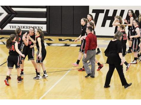 Scenes from Milford's OHSAA Tournament win over Kings on Feb. 23. (Photo credit: Jeff Sullivan).