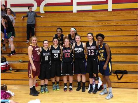 Meghan Swearingen competed in the 2015 District 16 All-Star Game on March 25.