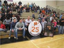 Retiring Baseball's #25 Michael Foltynewicz & MCHS Team members 1/30/15