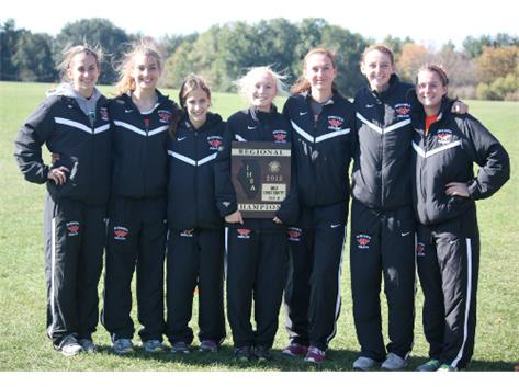 The Running Indians put 7 in the top 10 to win the Normal Community 3A Regional with 21 pts!