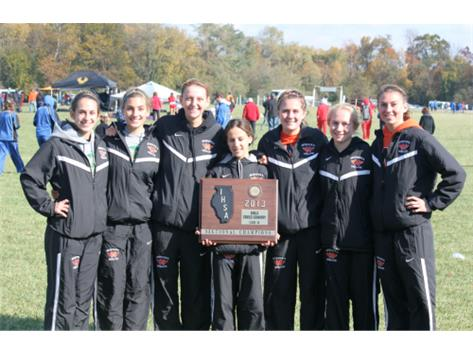 Indians win Edwardsville Sectional with 39 points.  4 in the top 10; 7 in the top 25!