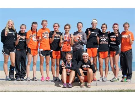 The Girls won the 34 team Loyola Lakefront Invitational field with 78 points.