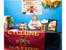Class of 2021- Madeline Crosse Commits to Iowa State for Gymnastics