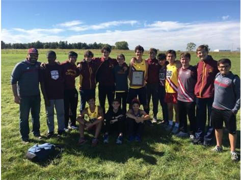 2020-21 CCL Boys Cross Country Champions