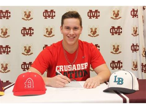 Class of 2021 - Jack Angus Commits to Belmont Abbey College for Baseball
