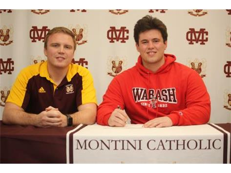 Class of 2021 - Wrestler Colin Baker commits to Wabash College