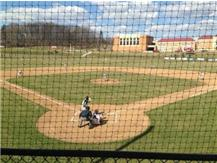 The opening pitch at new HS Field