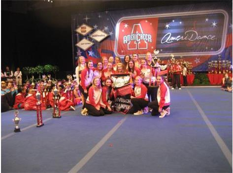 The Moon Area High School Dance Team in Orlando, Fl. 2014 Varsity Hip Hop Champions