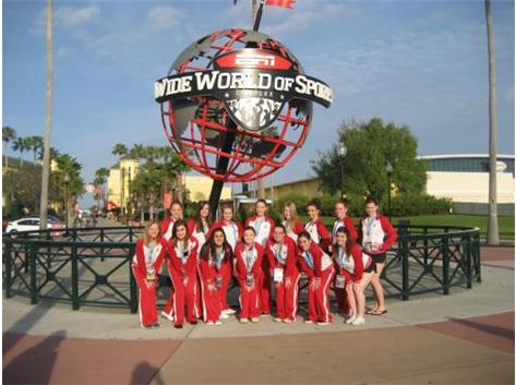 The team before the International Competition began!