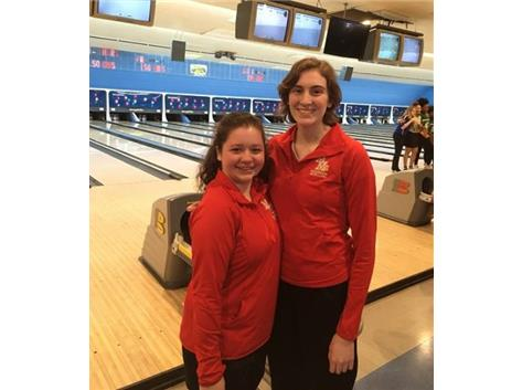 IHSA Sectional Qualifiers Becca Jiricek and Kristen Scheffler