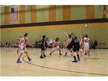 2014 7th grade team in action.