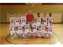 2014 7th Grade Basketball Team