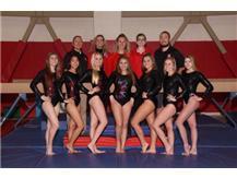 2017-18 Varsity Girls Gymnastics