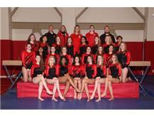 2017-18 Junior Varsity Girls Gymnastics