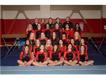 JV Girls Gymnastics 2018-19