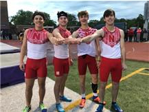 State Qualifying 4x100 Relay 2018-19