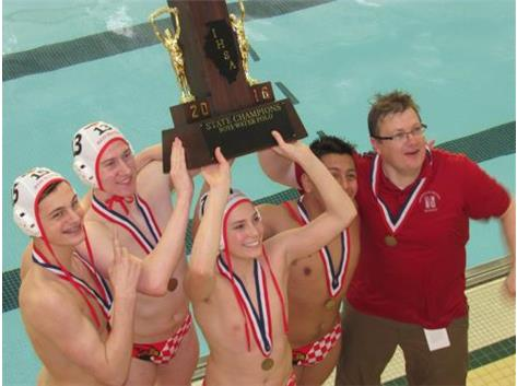 IHSA Boys Water Polo State Champions 2016