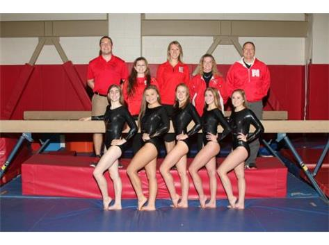 2016-17 Varsity Girls Gymnastics