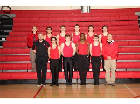 2017-18 Varsity Boys Gymnastics