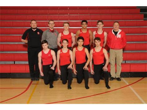 2018-19 Varsity Boys Gymnastics